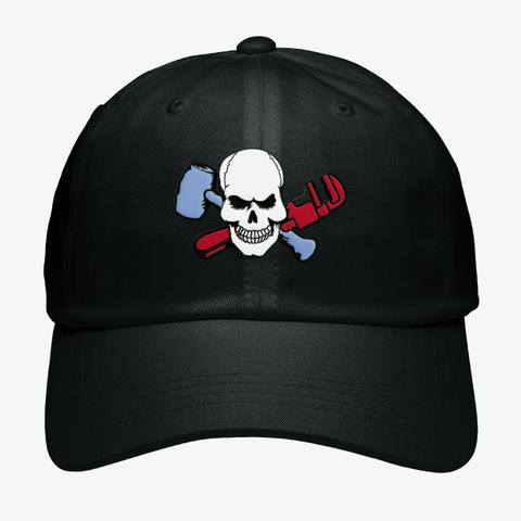 Dead Men Baseball Hat Black T-Shirt Front