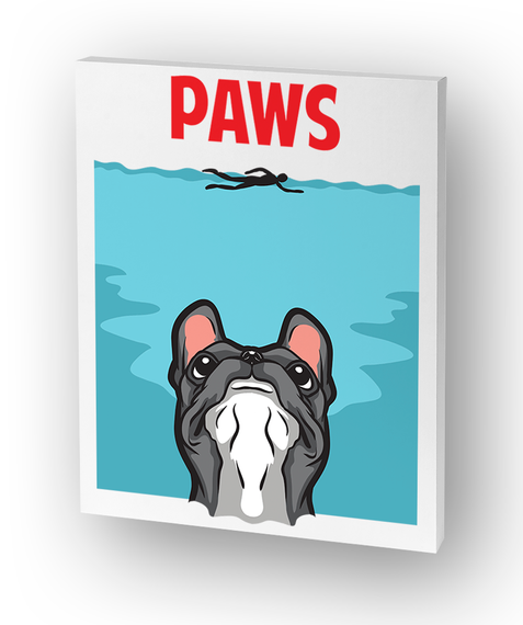 Paws...French Bulldog Edition Standard T-Shirt Front