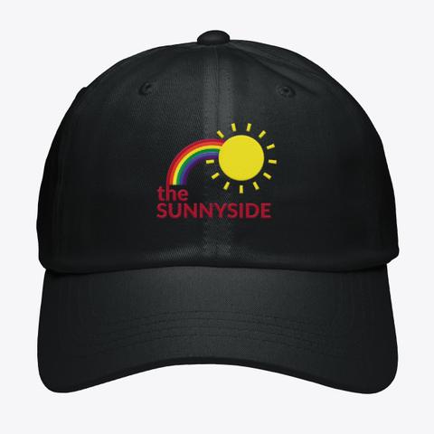 The Sunnyside Black T-Shirt Front
