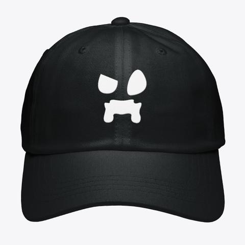 Wattles Logo Hat Black T-Shirt Front