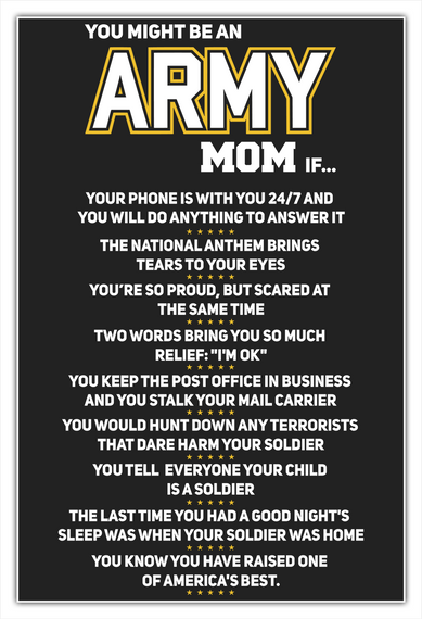 81ae81d1 You Might Be An Army Mom If Products from Army Mom T-Shirts | Teespring
