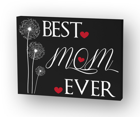 Best Mom Ever Standard Kaos Front