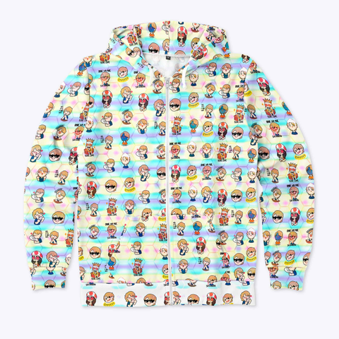 Venmoji Zip Hoodie Standard T-Shirt Front