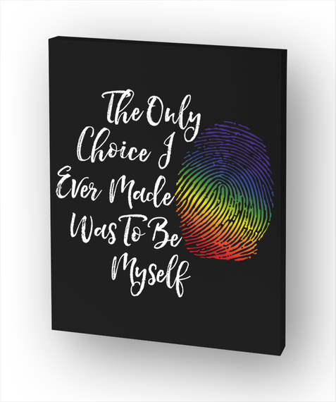 #Pride2017 Lgbt   Be Myself  16x20 White T-Shirt Front