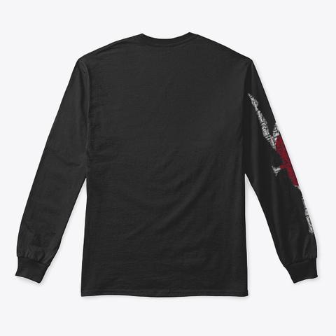 Volleybragswag Jump Serve Dig Jpn Libero Black T-Shirt Back