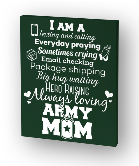 I Am A Texting And Calling Everyday Praying Sometimes Crying Email Checking Package Shipping Big Hug Waiting Hero... White T-Shirt Front