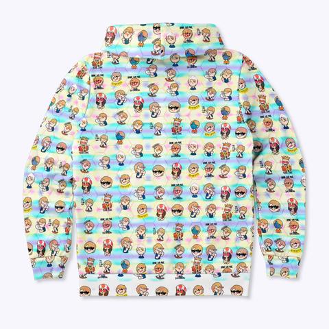 Venmoji Zip Hoodie Standard T-Shirt Back