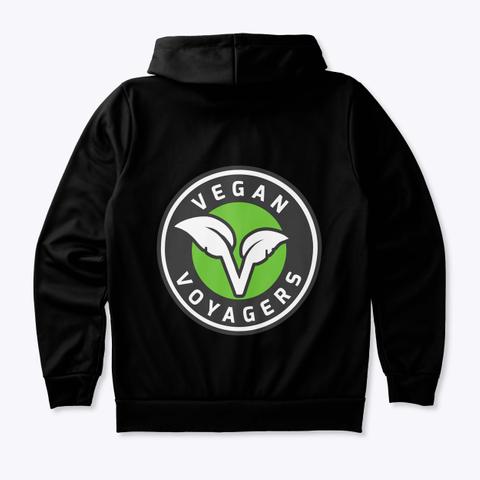 Vegan Voyagers Hoodie Standard T-Shirt Back