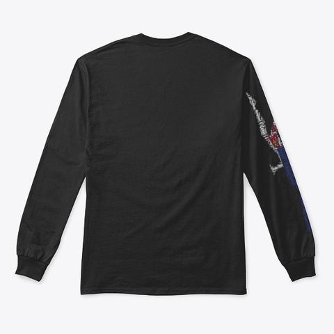 Volleybragswag Jump Serve Dig Srb Libero Black T-Shirt Back
