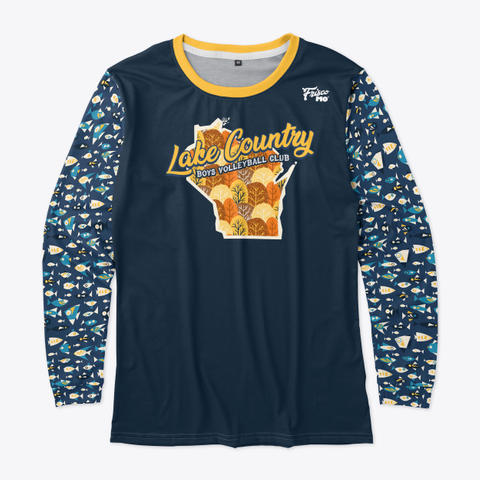 Lake Country Warm Up Standard T-Shirt Front