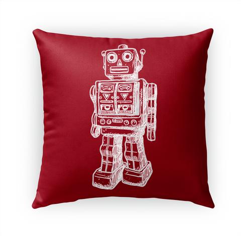 Pillow Robot Standard T-Shirt Front