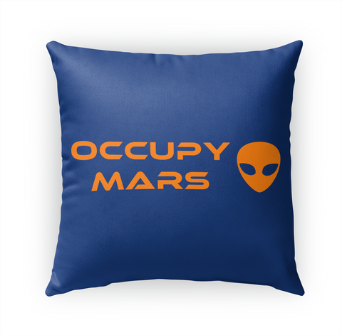 Occupy Mars Standard T-Shirt Front