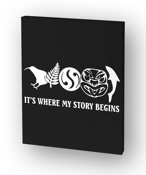 It's Where My Story Begins White T-Shirt Front