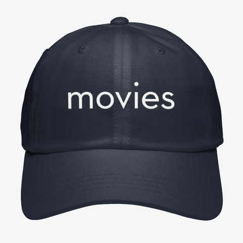 Movies Navy T-Shirt Front