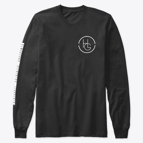 Hannah Grace Emblem Black T-Shirt Front