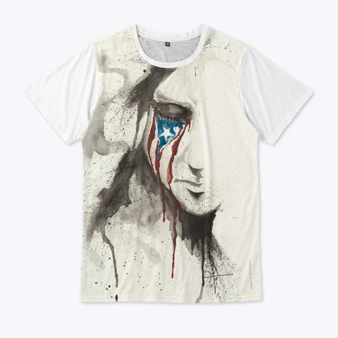 Jaco Tartaruga/La Borinquena Llora Standard T-Shirt Front