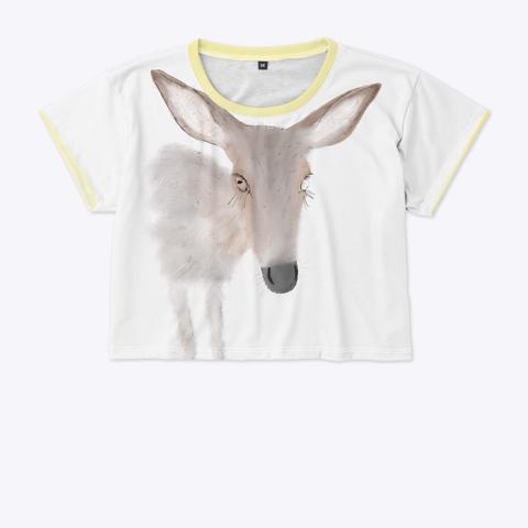Dear Daughter Crop Standard T-Shirt Front