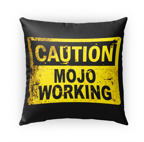 Caution Mojo Working White T-Shirt Front
