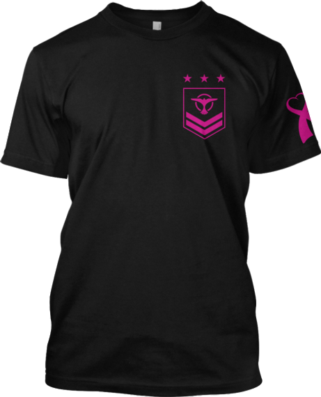 Tiesto 17 Black T-Shirt Front