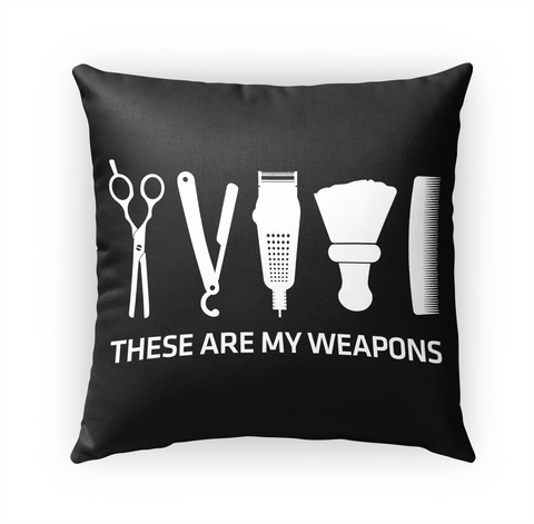 These Are My Weapons Standard T-Shirt Front