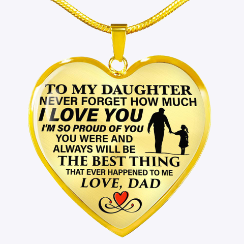 To My Daughter Standard T-Shirt Front
