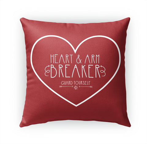Heart And Arm Breaker Guard Yourself Standard T-Shirt Front