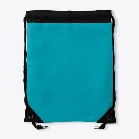 Drawstring Nash Green Standard T-Shirt Back