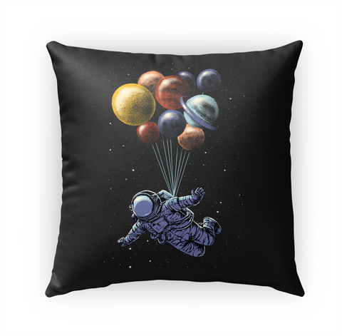 Space Travel Pillow Standard Camiseta Front