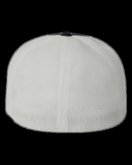 Cattle Life Hat Black/White T-Shirt Back