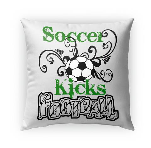 Soccer Kicks Football Standard T-Shirt Front