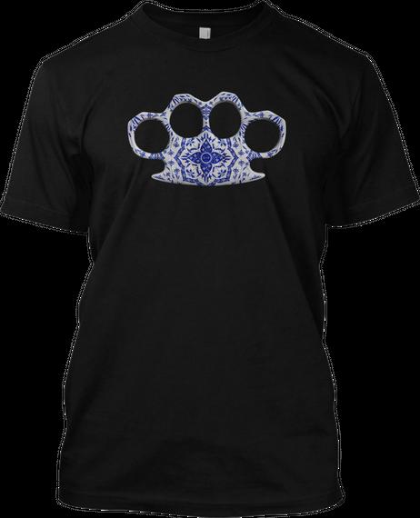 Please See Art Team For Artwork Black T-Shirt Front