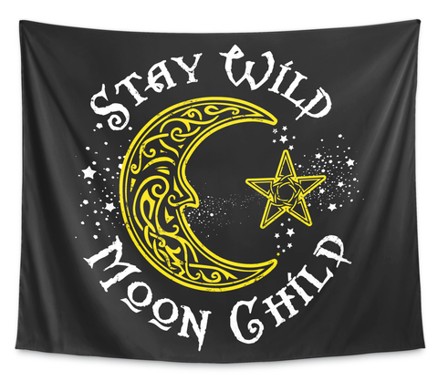 Stay Wild Moon Child White T-Shirt Front