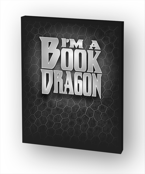 I'm A Book Dragon Standard T-Shirt Front