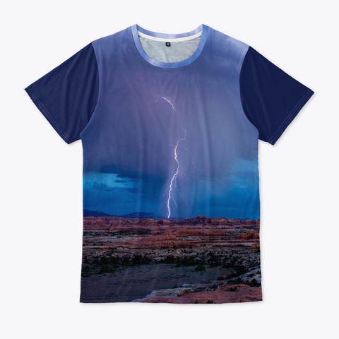 Utah Lightning Standard T-Shirt Front