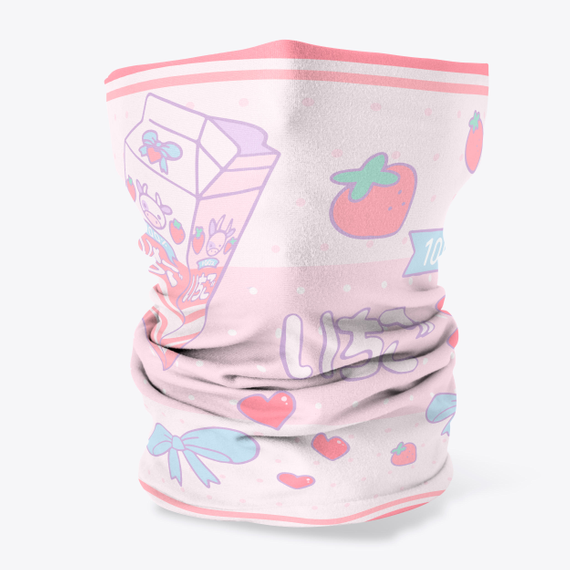 Strawberry Milk Face Cover Products from MowtenDoo Store | Teespring