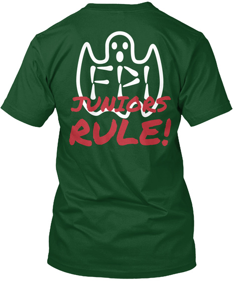 Juniors Rule Deep Forest T-Shirt Back