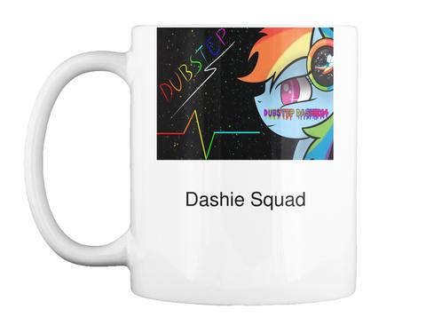 Dashie Squad White T-Shirt Front