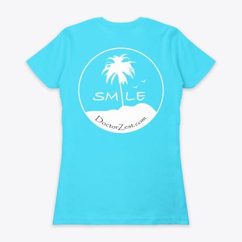 Doctor Zest Tahiti Blue  T-Shirt Back