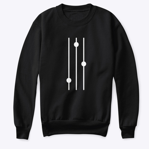 Sweatshirt: Mixer Black T-Shirt Front