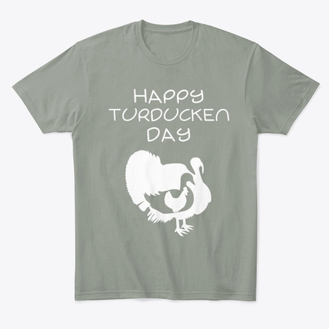 Christmas Or Thanksgiving Happy Grey T-Shirt Front