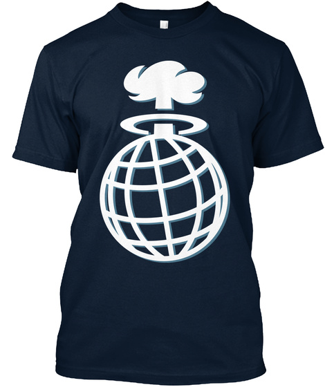 Murder The Internet   Exclusive T Shirts New Navy T-Shirt Front