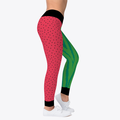 Jiu Jitsu Watermelon Squeeze   Spats Standard T-Shirt Right