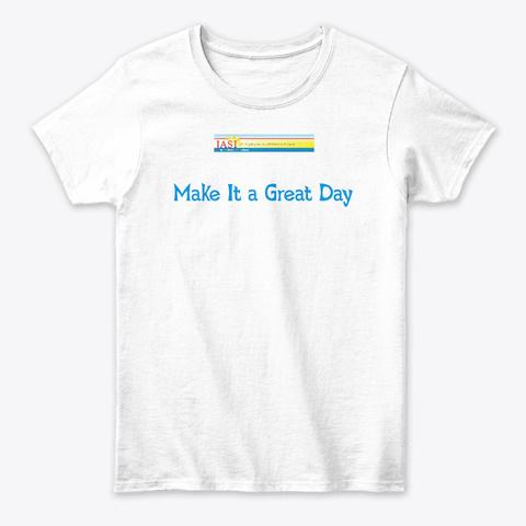 Jasi 1 White T-Shirt Front