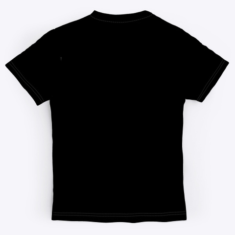 Fishbrook Fish One Black T-Shirt Back