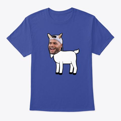 Arrogant Goat Deep Royal T-Shirt Front