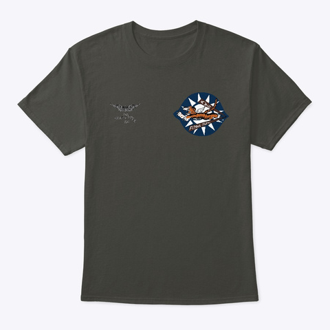 Avg Flying Tigers Smoke Gray T-Shirt Front
