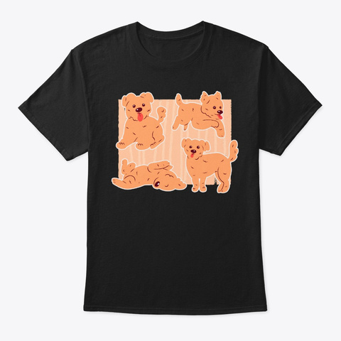 Cool Morkie Poses Gifts For Dog Owner Black T-Shirt Front