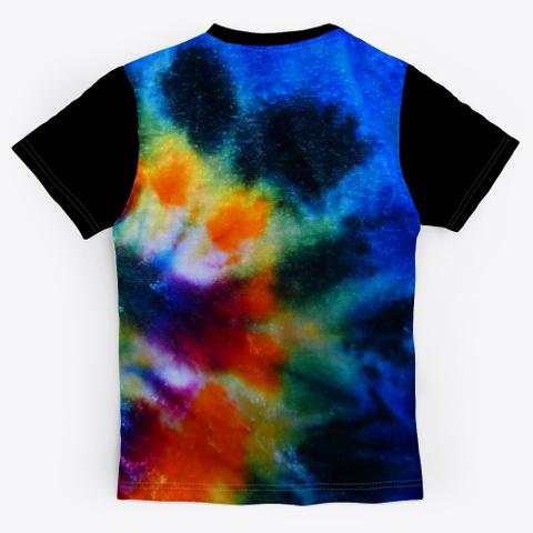 The Official Audible484 Merchandise Black T-Shirt Back