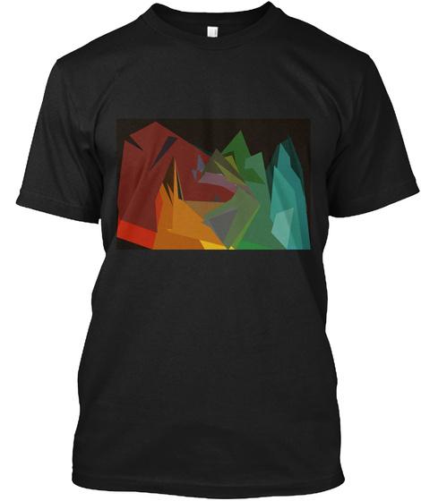 Wilderness  Black T-Shirt Front