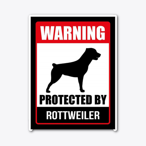 Rottweiler Security Standard T-Shirt Front